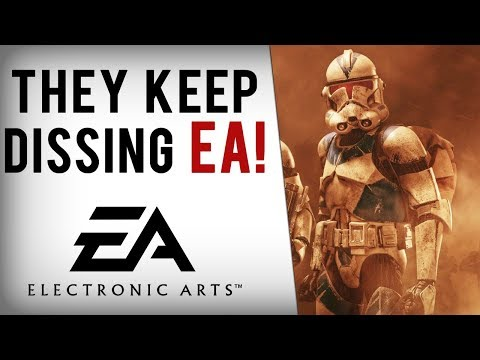 EA Dissed By Sony CD Projekt Bethesda Blizzard & More Following Battlefront 2 Mess