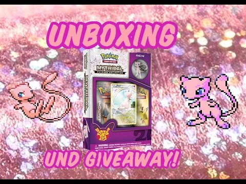Mysteriöse Pokémon Colllection UNBOXING und Giveaway!