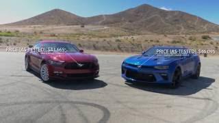 2016 Ford Mustang GT vs 2016 Chevrolet Camaro SS | Autoblog