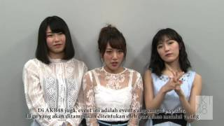 AKB48 Sends Greetings for JKT48 Request Hour 2016