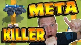 F2P ULTIMATE META KILLER! - Clash Royale - SLAY Golem, hog and giant - EASY - No Legendary Cards!