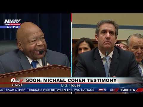 PART 1 Michael Cohen Testimony Taking On President Trump