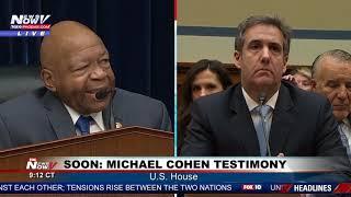 PART 1: Michael Cohen Testimony Taking On President Trump