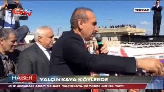 Mehmet Yalçınkaya Köy köy geziyor-Akçakale/Şanlıurfa MHP