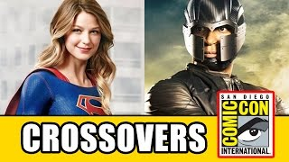 ARROW SEASON 5, The Flash & Supergirl Crossover Spoilers - David Ramsey At Comic Con 2016