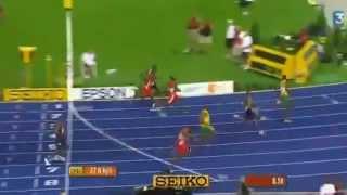 Record 100m Usain Bolt 9,58