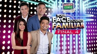 Kapamilya Chat with Melai, Edgar Allan, Nyoy & Jay-R for Your Face Sounds Familiar