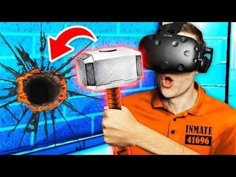 Making SECRET HAMMER To BREAK OUT OF PRISON Prison Boss VR Funny Gameplay
