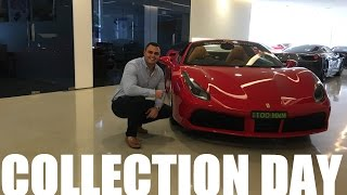 COLLECTION DAY Ferrari 488 Spider & First Drive
