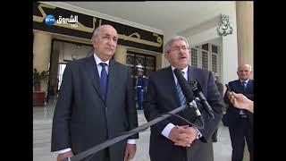 شاهد.. هذا ما قاله الوزير الأول الجديد أحمد أويحيى خلال تسلم مهامه