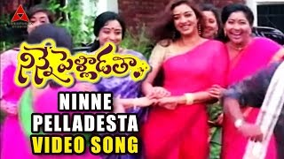 Ninne Pelladesta Video Song | Ninne Pelladatha Movie | Nagarjuna,Tabu