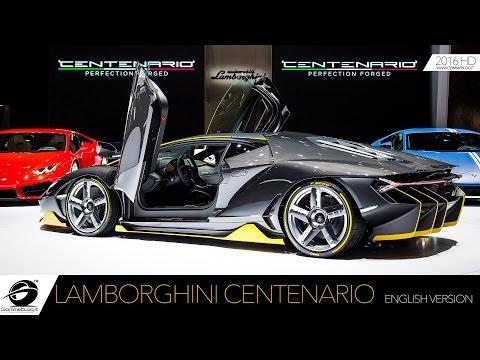 Lamborghini Centenario: HOW IT'S MADE? Maurizio Reggiani Interview