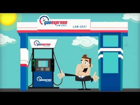 Gasexpress, Red de Gasolineras ¿Cómo repostar?