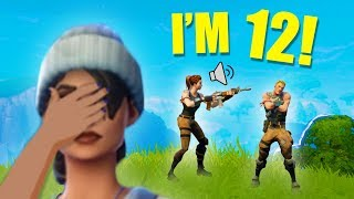 PLAYING SQUADS WITH SQUEAKERS!   Fortnite Battle Royale Funny Moments