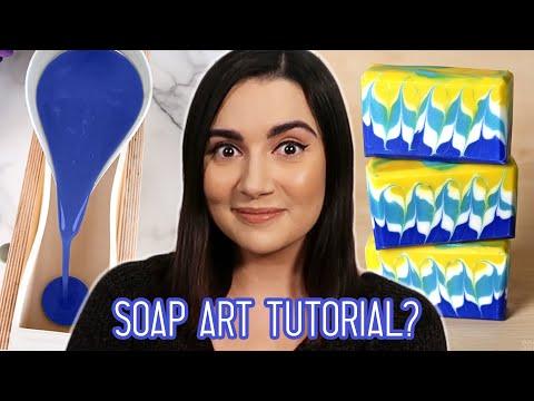 I Tried Following A Soap Art Tutorial