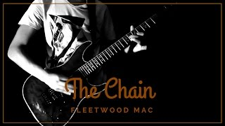 The Chain - Fleetwood Mac Guitar Solo Cover (Guardians Of Galaxy Vol 2 Song)