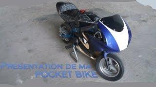Presentation de ma pocket bike ! LIRE LES COMMENTAIRES !!