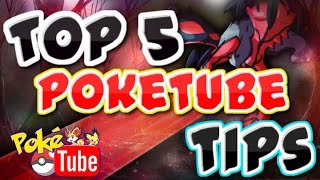 TOP 5!!! Tips on how to become the BEST. POKETUBER