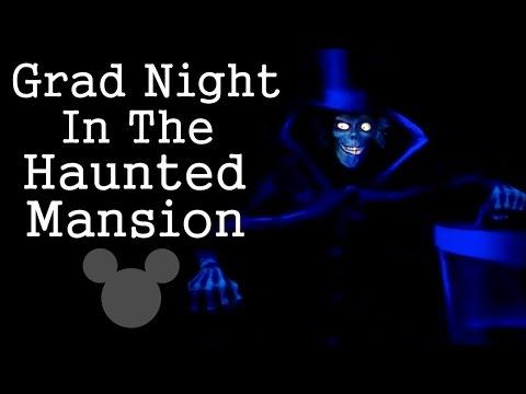 Grad Night in the Haunted Mansion Creepypasta