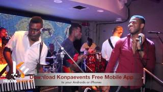 Harmonik -  Mwen Bouke Live @ Moca Cafe   [ Feb / 20 /16 ]