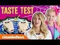 JoJo Siwa & Lexi DiBenedetto's Trick Or Treat 🍬 Halloween Taste Test | Nick