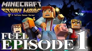 Minecraft: Story Mode - Full Episode 1: The Order of the Stone Walkthrough 60FPS HD [No Commentary]