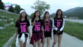 [Sixteen] Full energy of the impromptu music videos !!! [Episode 7 Unreleased Video] [HD]