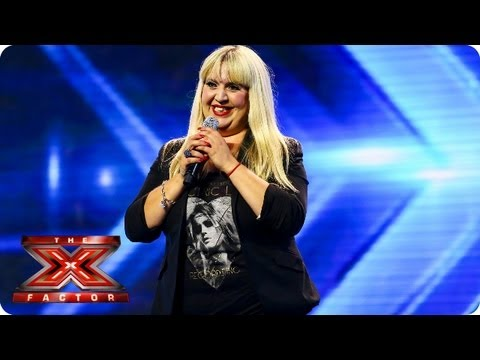 Download Shelley Smith sings Feeling Good by Nina Simone - Arena Auditions Week 2 -- The X Factor 2013