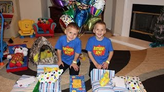 Twins 6th Birthday