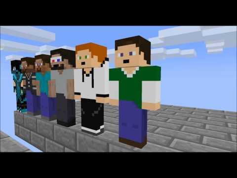 Minecraft animation Minecraft player School Parkour