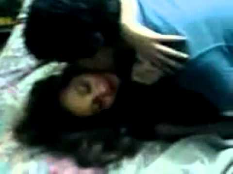 Indian girlfriend making out with boyfriend