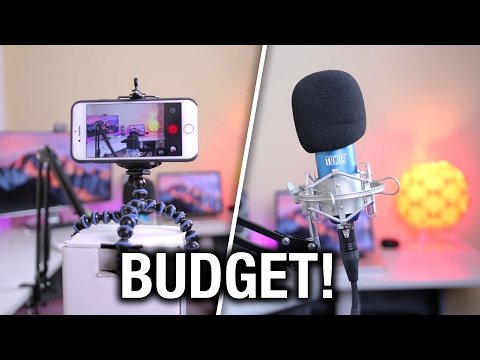 Xxx Mp4 How To Make YouTube Videos On 100 Budget BEST Budget YouTube Equipment 2017 3gp Sex