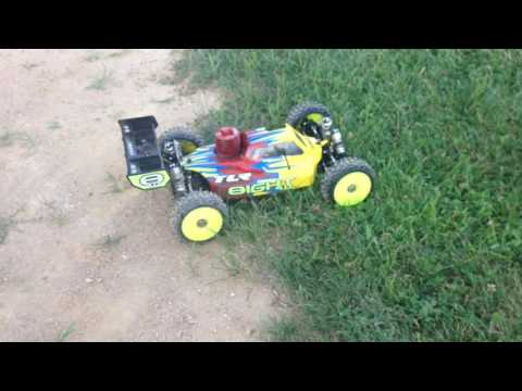 First time run of the PALOMA 41032 9886 TLR4.0 Buggy