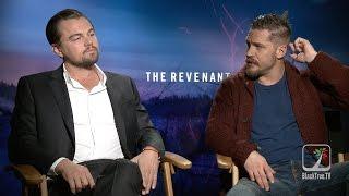 Leonardo DiCaprio and Tom Hardy Interview THE REVENANT