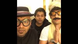 Politician Nograj plays Antakshari with Singer Benny Dayal | Facebook Live