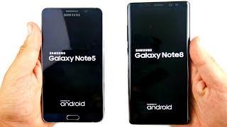 Samsung Galaxy Note 5 vs Galaxy Note 8! - Worth The Upgrade?