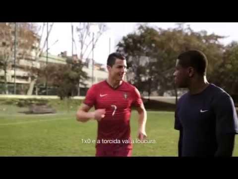 NIKE 2014 Neymar x Cristiano Ronaldo; Rooney x Ibrahimovic