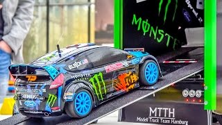 Download Fantastic KEN BLOCK RC truck with the Hoonigan Ford Fiesta on board! 3Gp Mp4