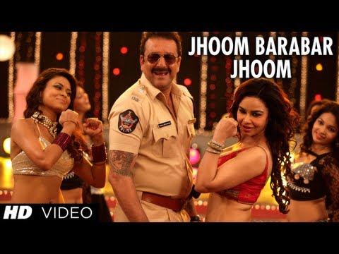 POLICEGIRI JHOOM BARABAR JHOOM VIDEO SONG | SANJAY DUTT, PRACHI DESAI