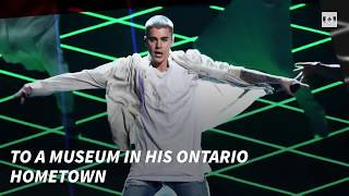 Justin Bieber exhibit to open in Canadian hometown