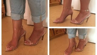 DIY Clear Transparent Heels Durchsichtige Heels I Marina Si
