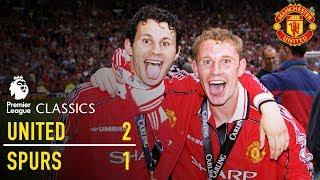 Manchester United 2-1 Tottenham (98/99)   Premier League Classics   Manchester United