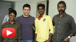 Aamir Khan Meets Marathi Movie Fandry's Cast & Crew!