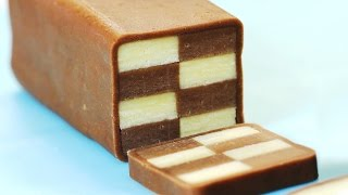 How to Make Checkerboard Cookies 체크 쿠키 만들기 Christmas Cookie