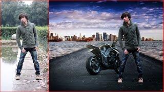 How to change background   Awesome photo manipulation   Photoshop Tutorial