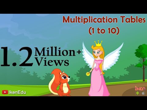 Multiplication tables 2 to 10 multiplication songs for for 11 times table rap