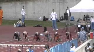 Aric Walden Josiah Sims Ramsey Hopkins 110HH vs UCLA 2012