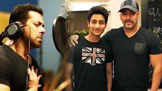 Salman Khan SINGS Marathi Song For Sairat Star Aakash Thosar's Film