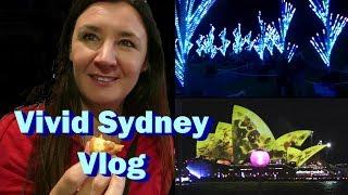 Vivid Sydney Vlog - Cheeky Tam