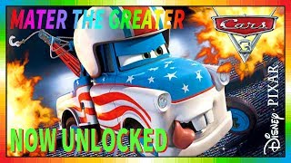 Cars 3 Driven to Win ★ Mater the Greater